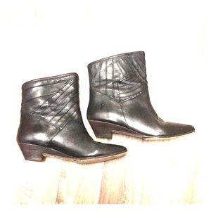 Black FRYE booties